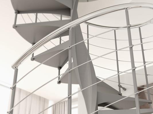 Винтовые лестницы из Италии