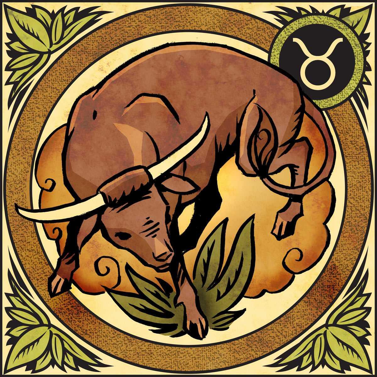 знаки зодиака бык картинки атласных