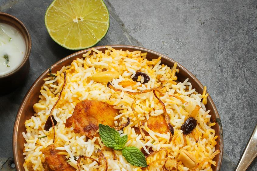 Пълнозърнест ориз Басмати Krina с пиле и кашу