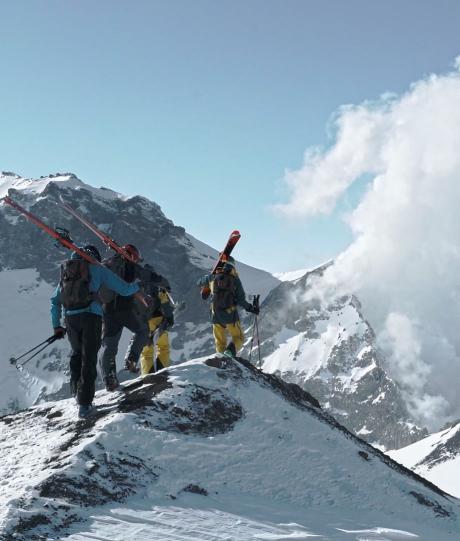 На горных лыжах по вулканам Камчатки