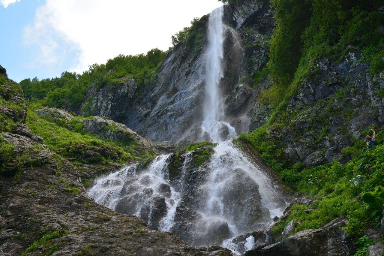 чехлов для водопад медвежий в сочи фото этой