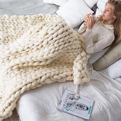 Пряжа для пледа крупной вязки купить в москве недорого купить ткань пвх ханва