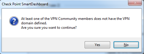 Как настроить Site-to-Site VPN на шлюзе Check Point