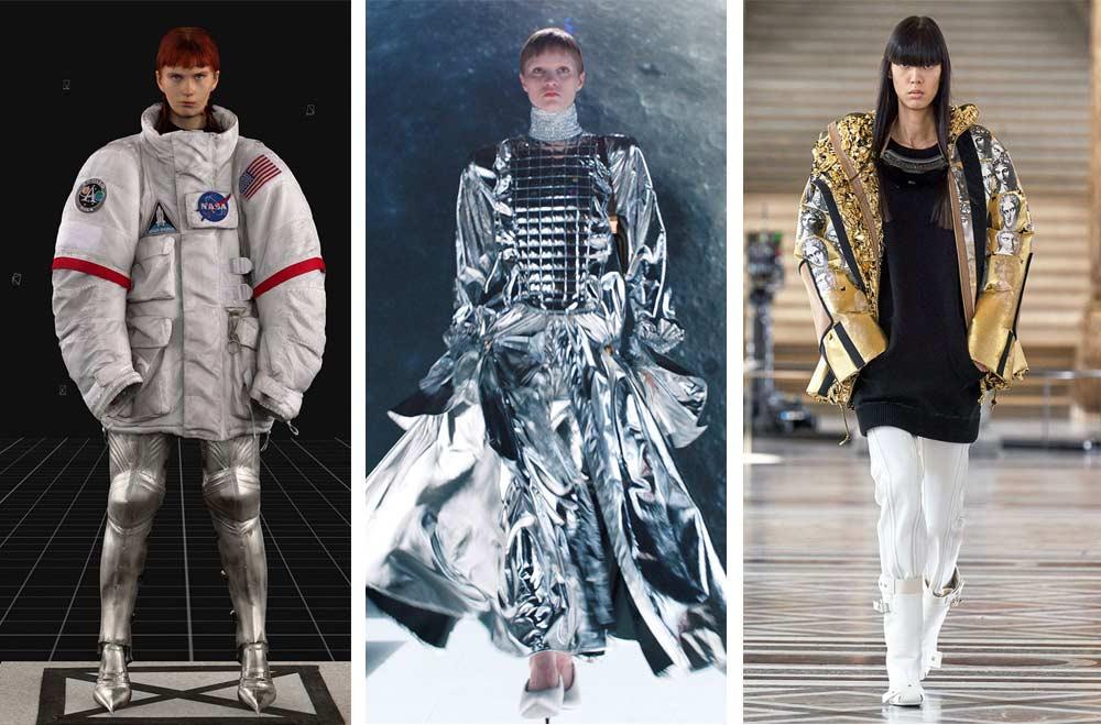 Много от модните колекции на световните дизайнери разглеждат темата за живот на Марс.