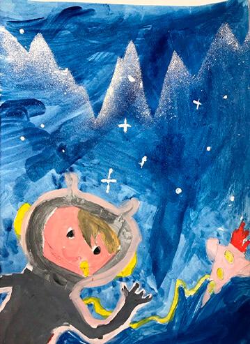 Первое место в конкурсе рисунка от Партии Шария Херсон - фотоя