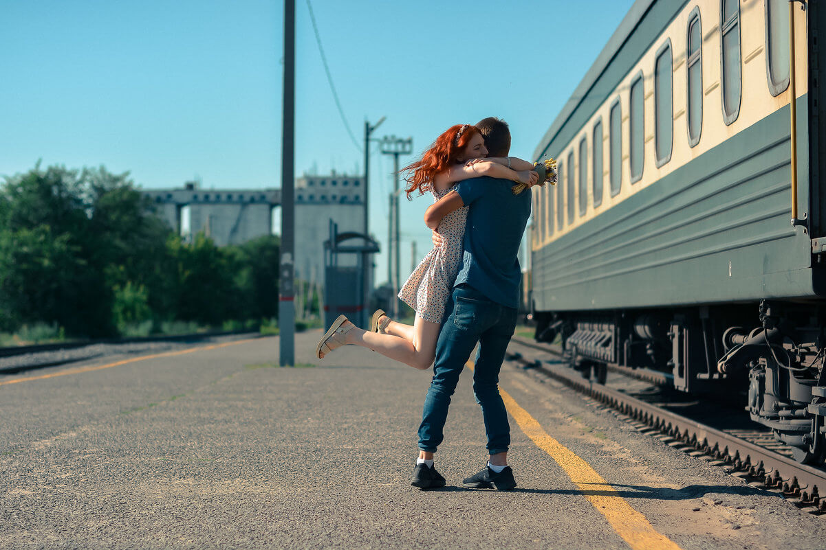картинки навстречу поезду но
