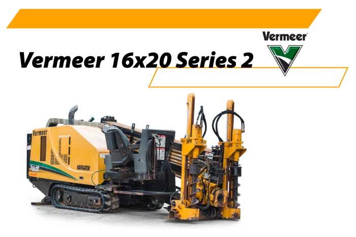 Машина ГНБ Vermeer 16x20 Series 2