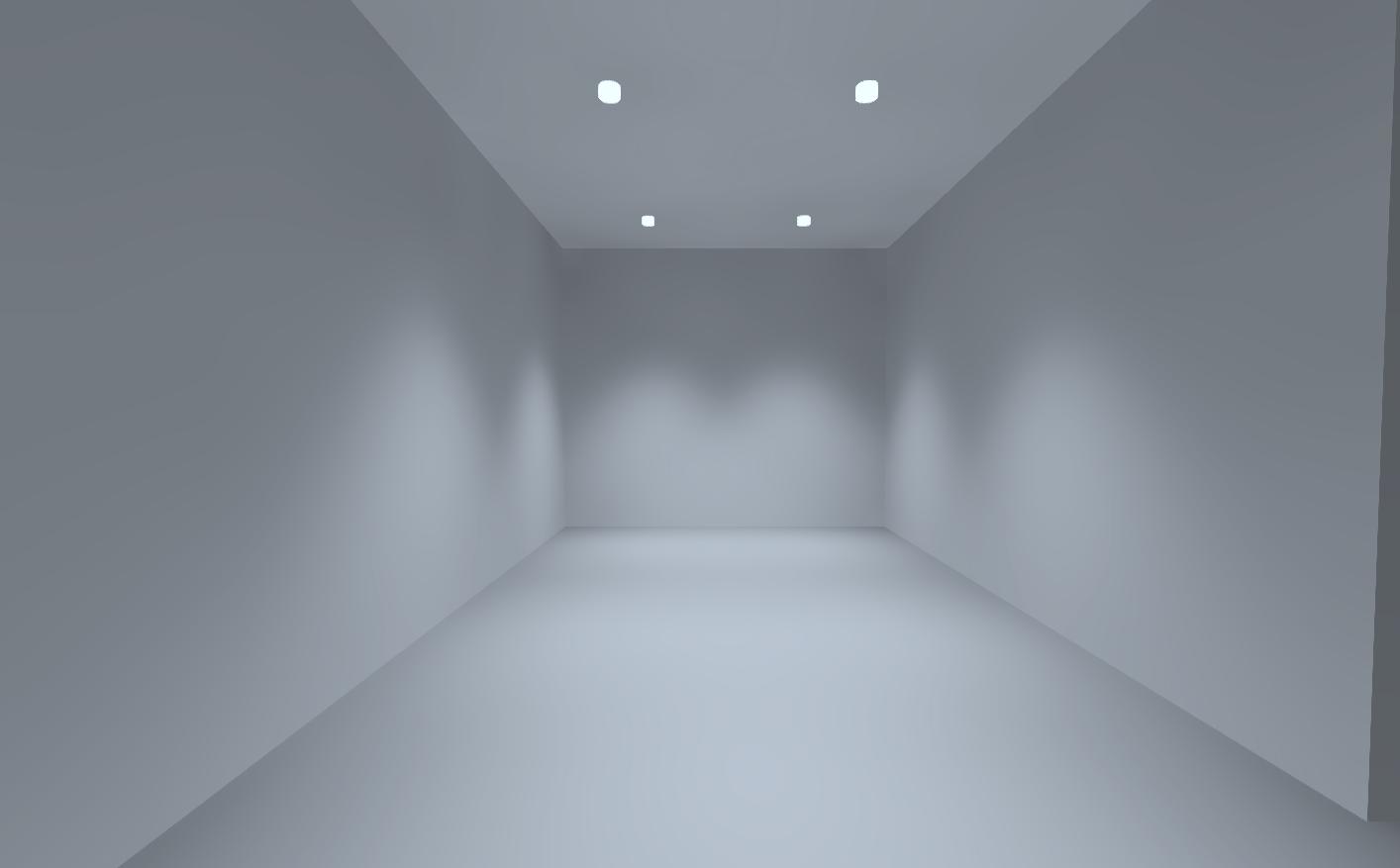 Визуализация освещения в гостиной