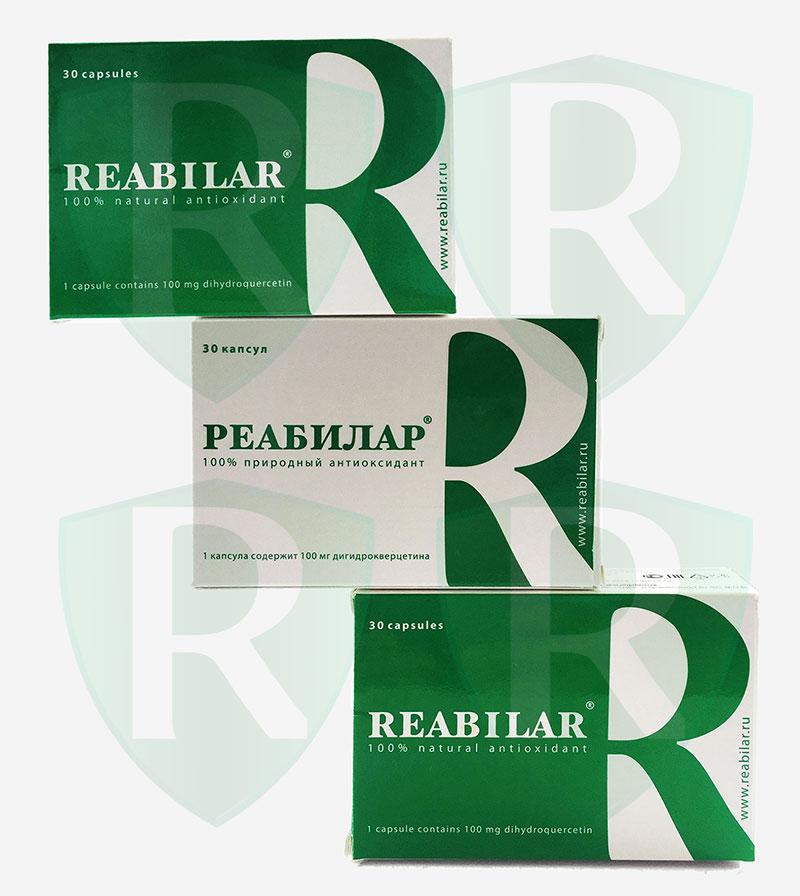 Купить Реабилар 3 упаковки в интернет магазине