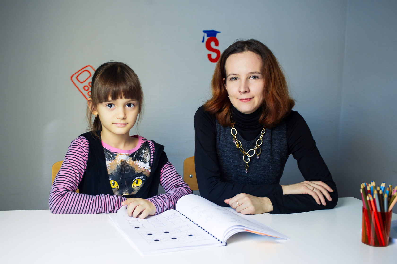 ученица курса развития для детей 6 лет