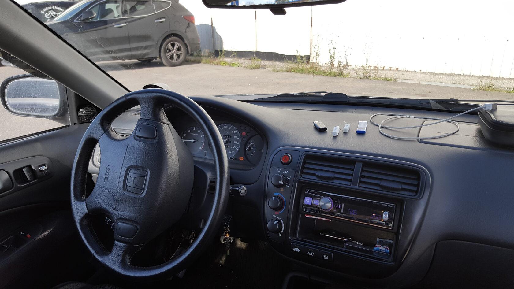 интерьер тюнинг хонда цивик купе