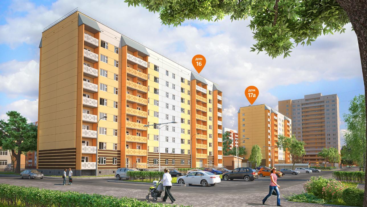 специализированных жилой комплекс аврора ижевск фото первом