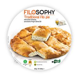 Пирог греческий Филло с сыром фета