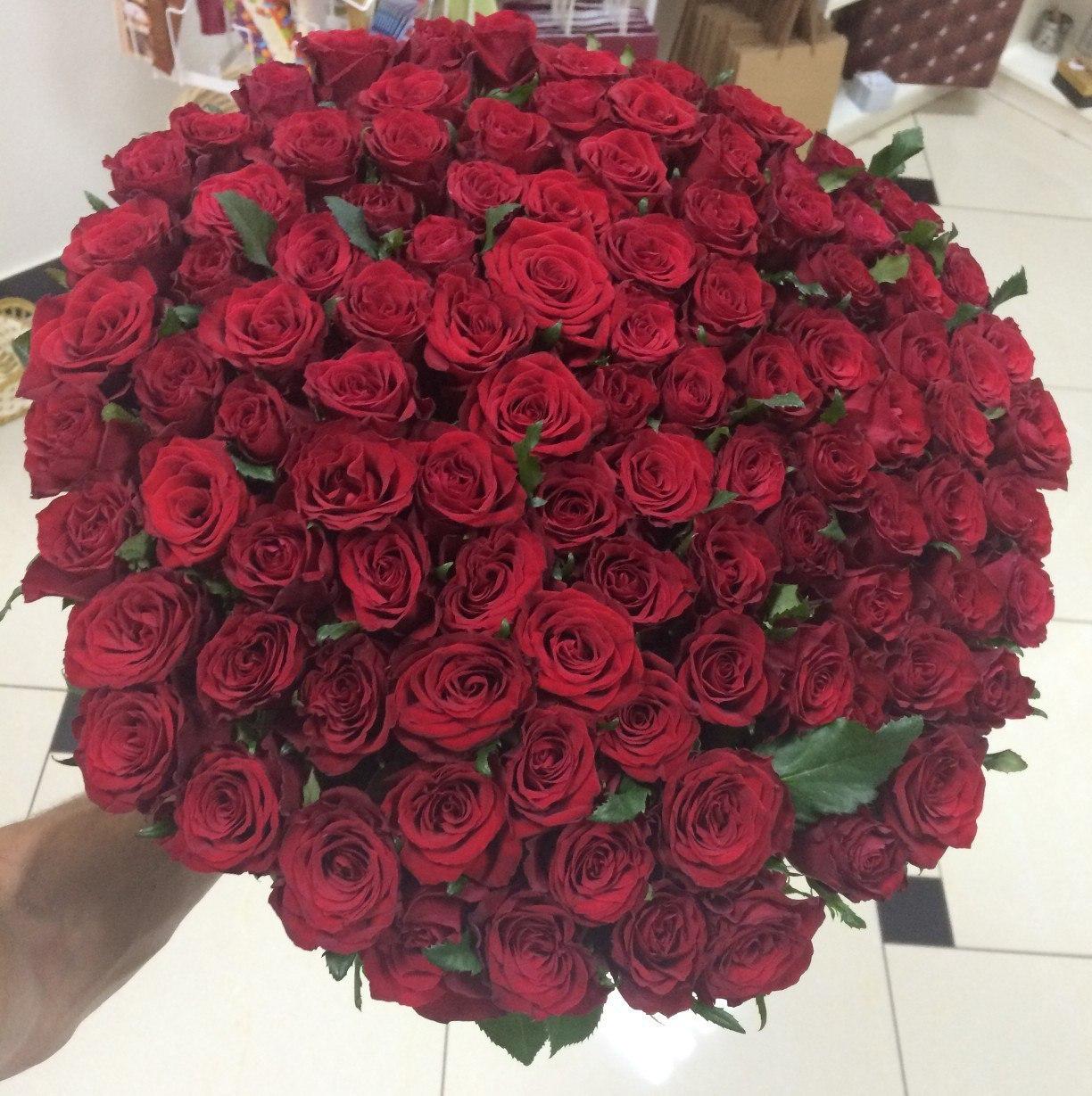 Букет, букет из 101 розы открытки
