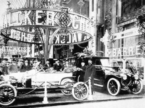 Парижский автосалон 1910 года