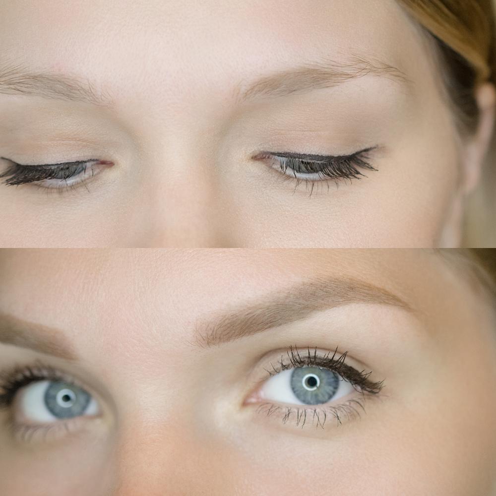 Как выглядит перманентный макияж через месяц после пудрового напыления бровей ❤️ KRAMER PMU STUDIO