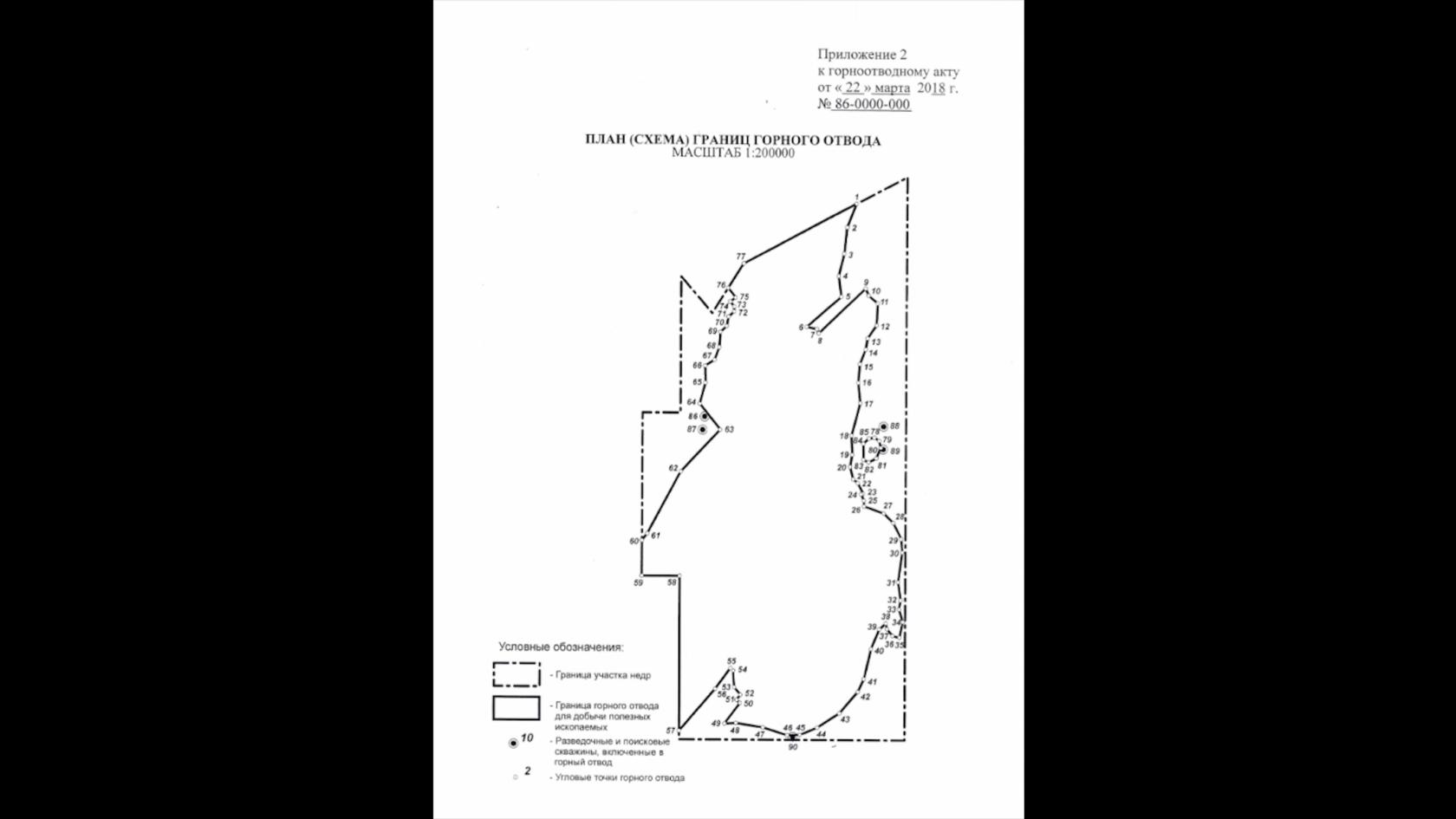 горный отвод и земельный отвод при недропользовании