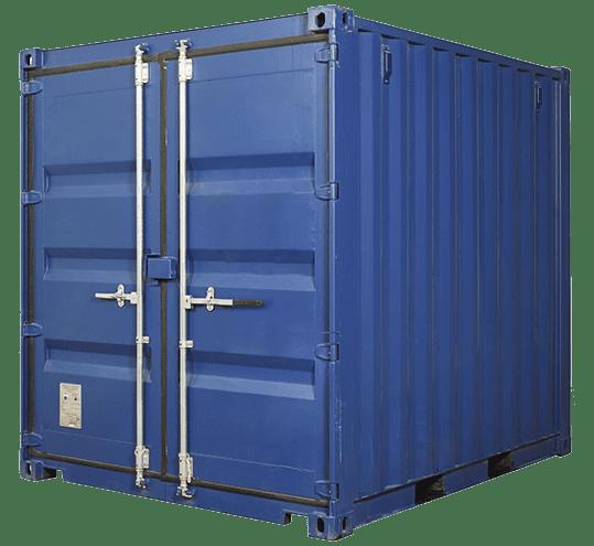 контейнер 10 футов высокий