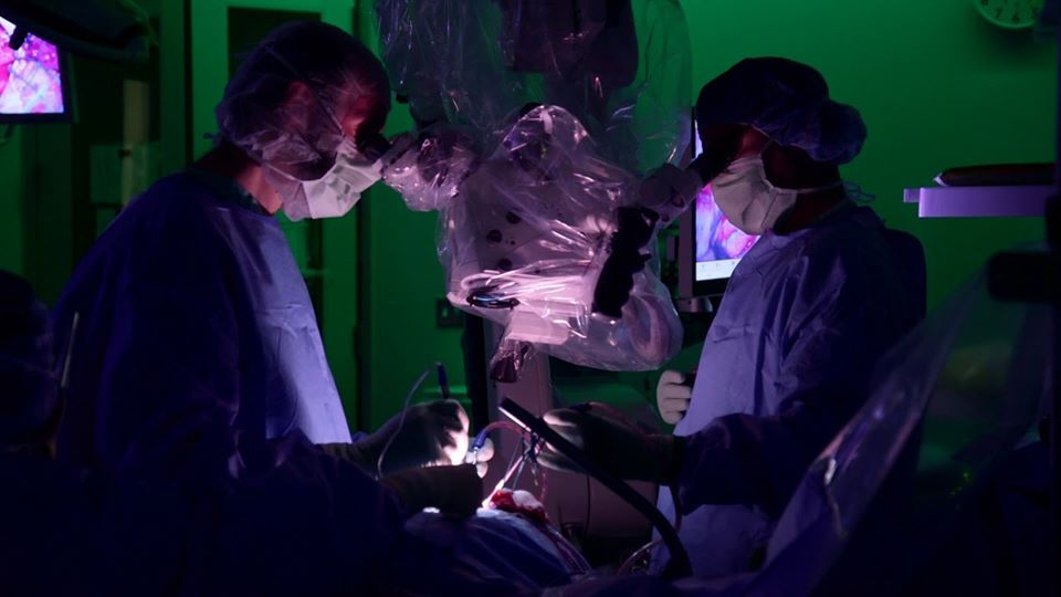 флюоресценція в хірургії пухлин головного мозку
