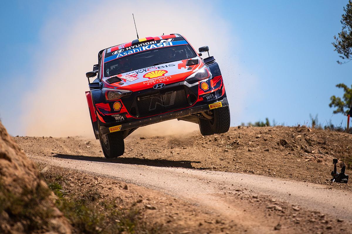 Тьерри Невилль и Мартейн Видаге, Hyundai i20 Coupe WRC, ралли Сардиния 2021/Фото: Jaanus Ree