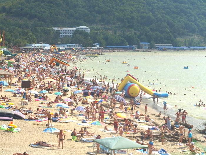 Пляж детского лагеря Морская сказка