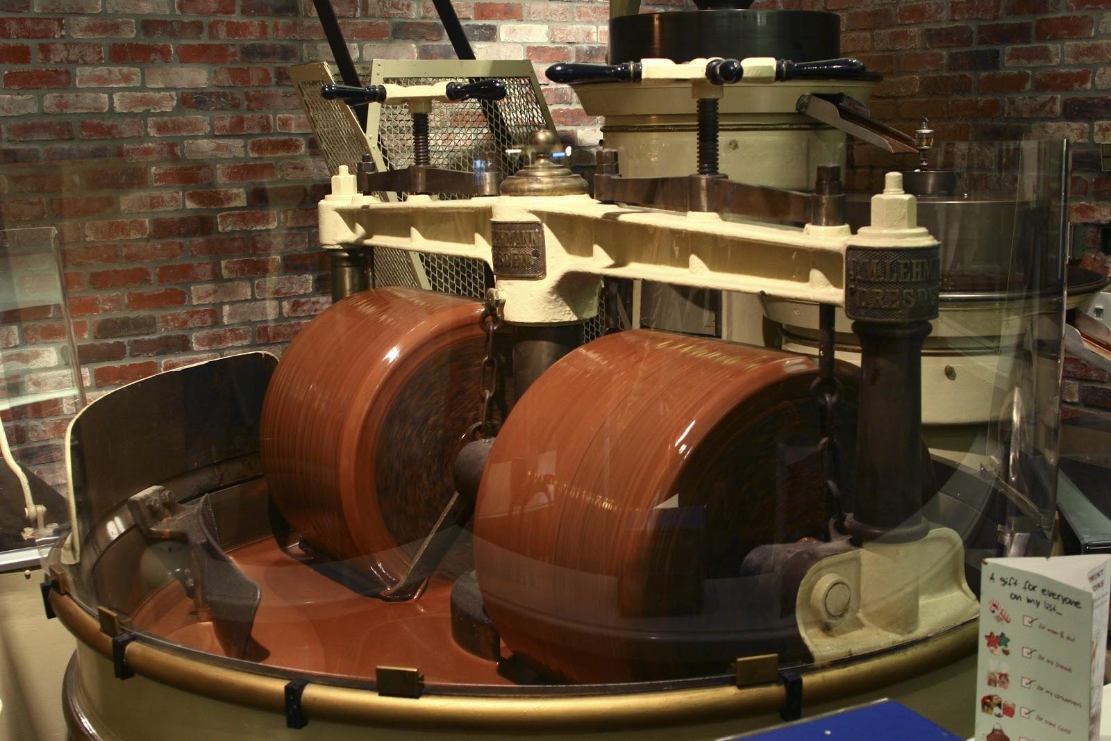 Производственный цех по созданию шоколада