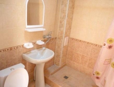 Санузел в номере в гостевом доме Идальго, Лермонтово