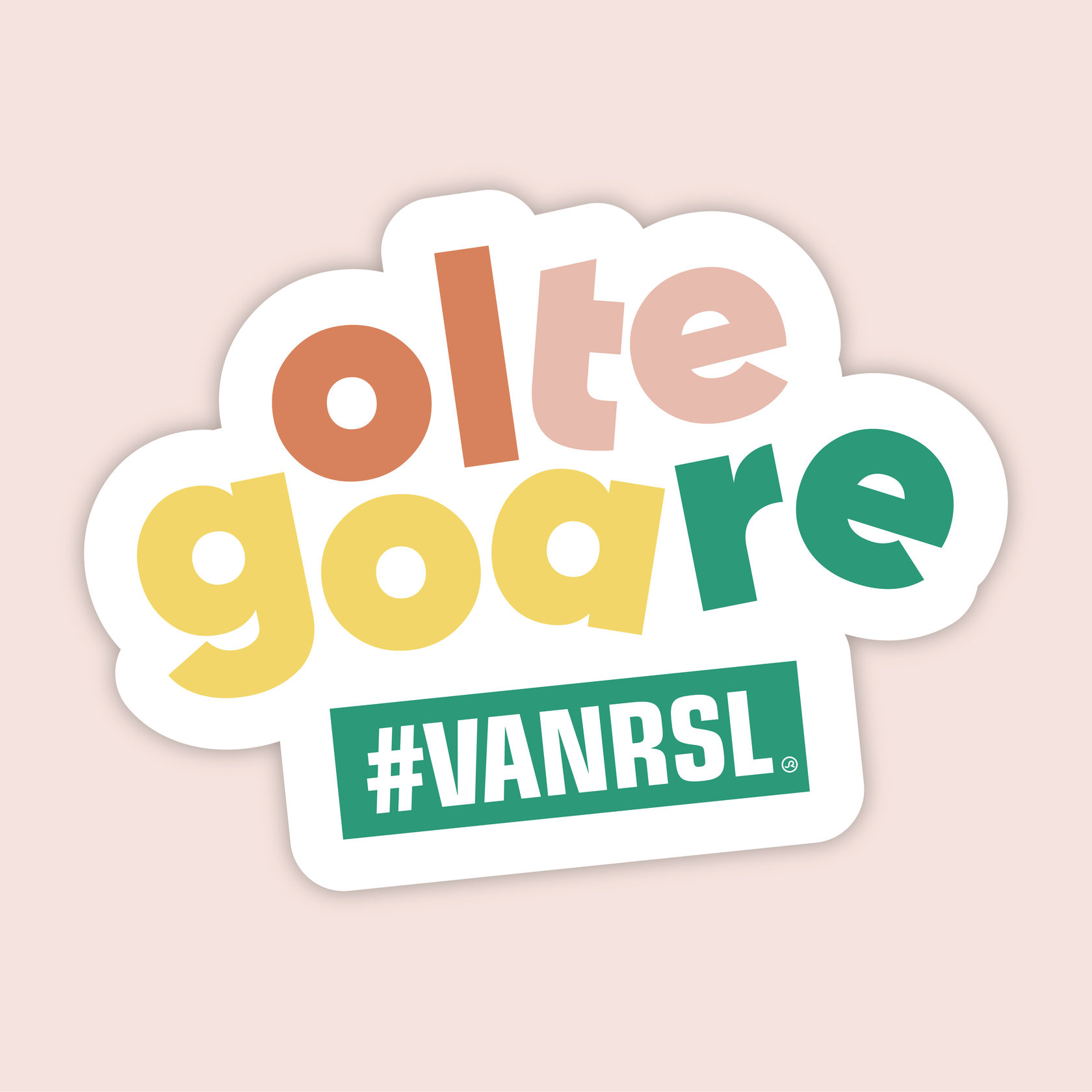 Logo Oltegoarevanrsl #vanrsl Stad Roeselare door Studio Arsène