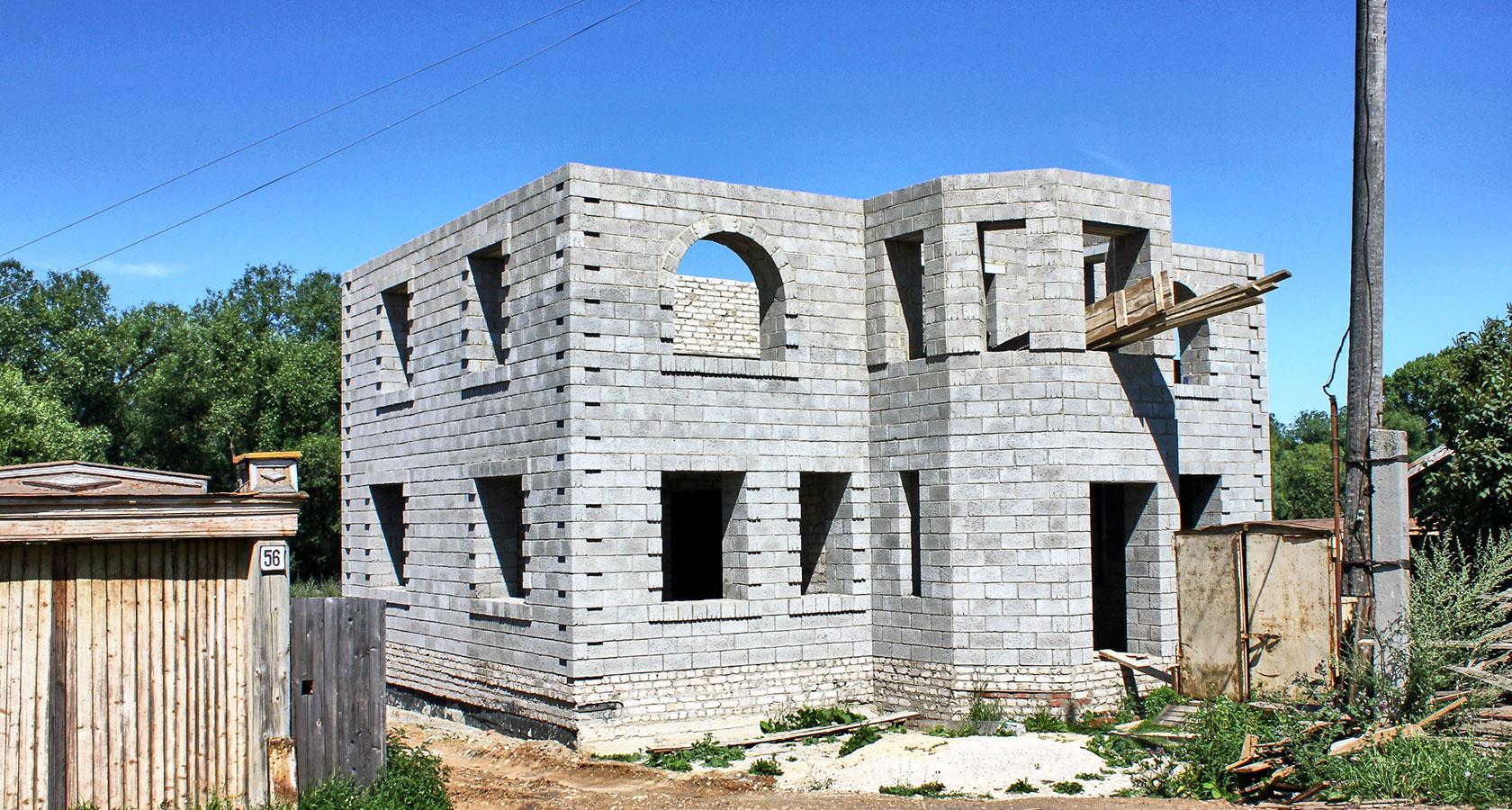 строительство керамзитобетонных домов