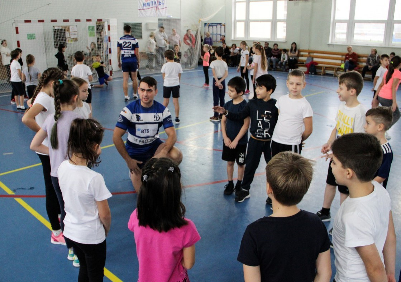 Динамо тренировка с детьми
