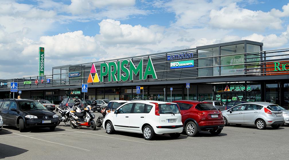 Продуктовый магазин в Лаппеенранте Prisma