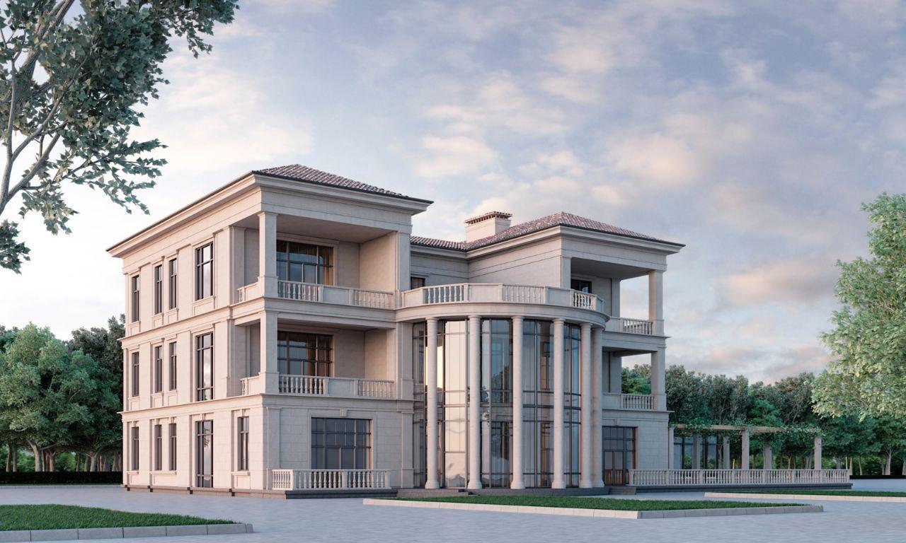 проектирование фасада здания