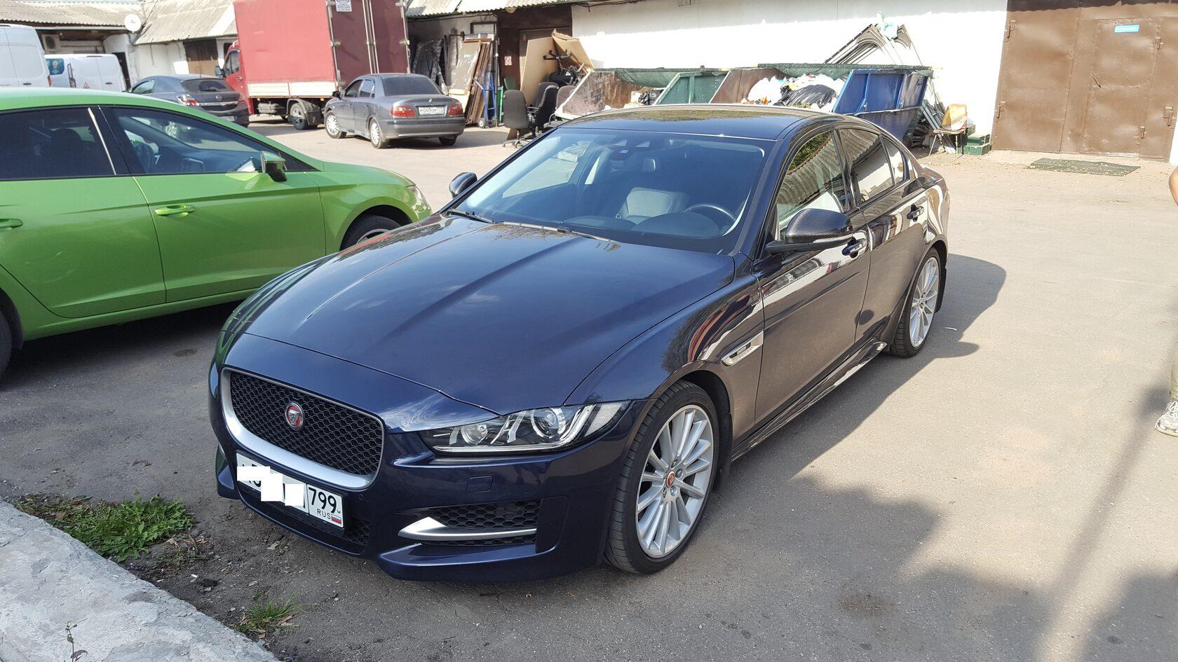 Автозвук в Jaguar XE