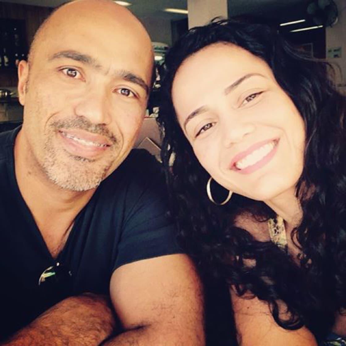 Francisco Filho's with Renata Borba