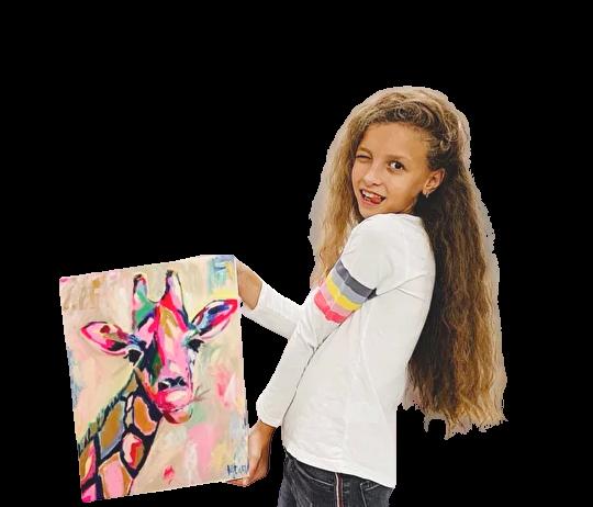 рисуем картины маслом с детьми в Одессе