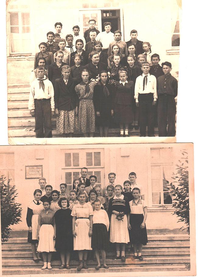 Учащиеся  50-х годов