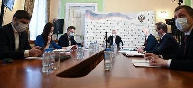 Минспорта РФ во время совещания. Фото minsport.gov.ru.