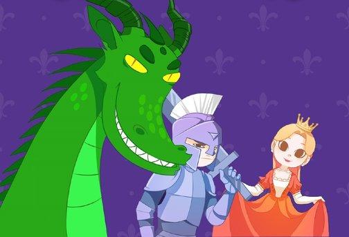 """Принцесса, Рыцарь и Дракон"""