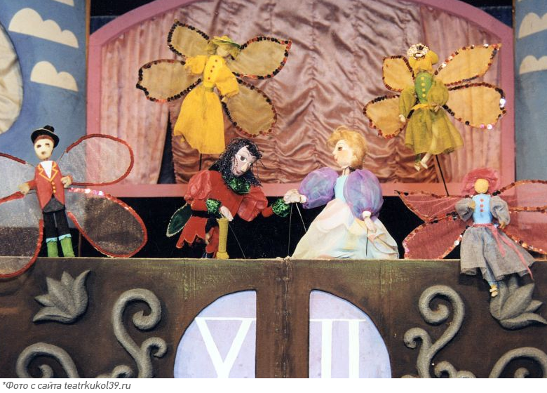 Детские спектакли в Театре Кукол