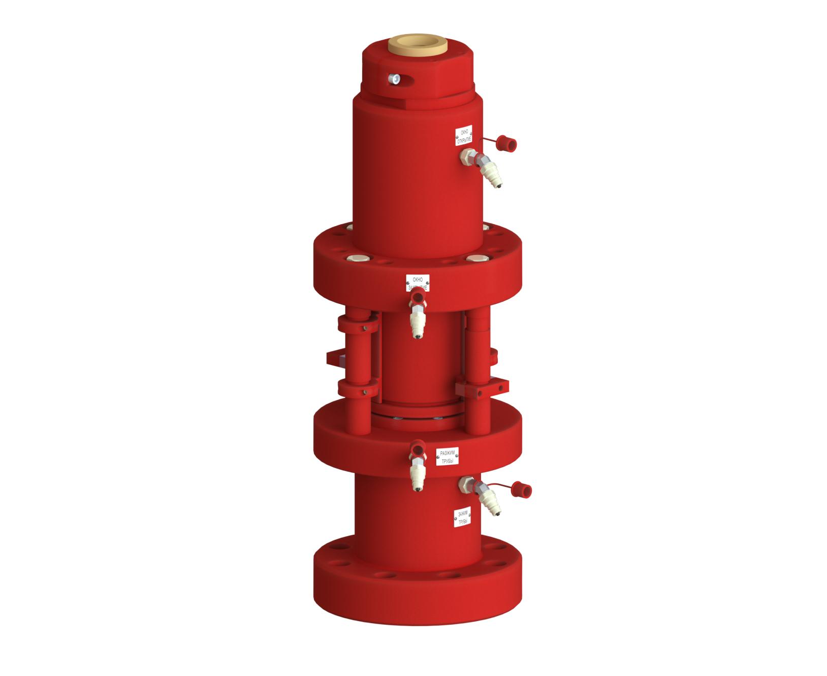 Герметизатор длинномерных безмуфтовых труб ГДБТ-80х70-К2
