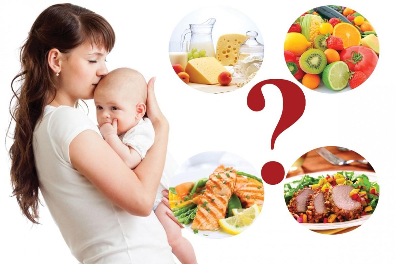 Грудное вскармливание и диета