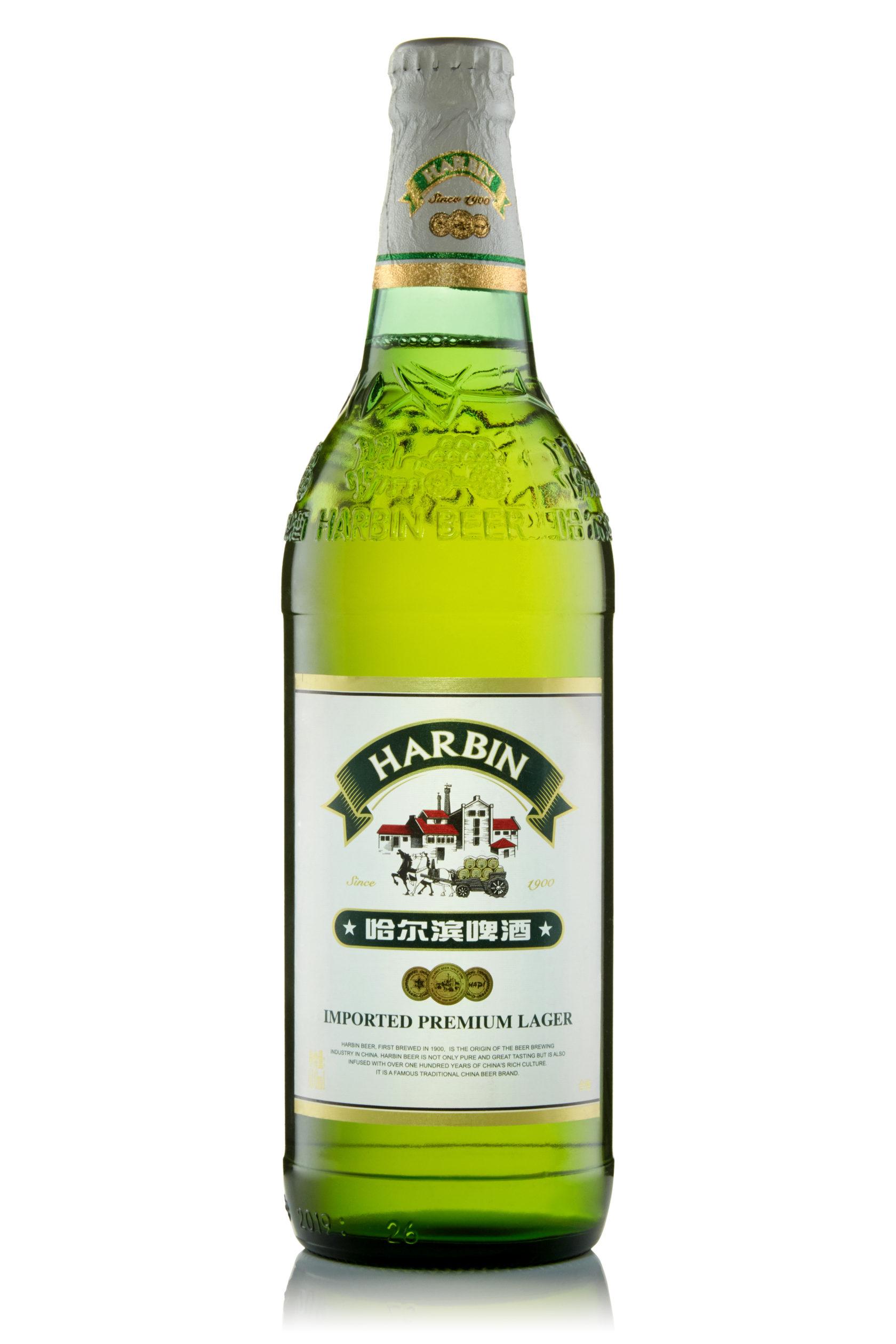 Купить пиво оптом Харбин Премиум 610 мл ст/б