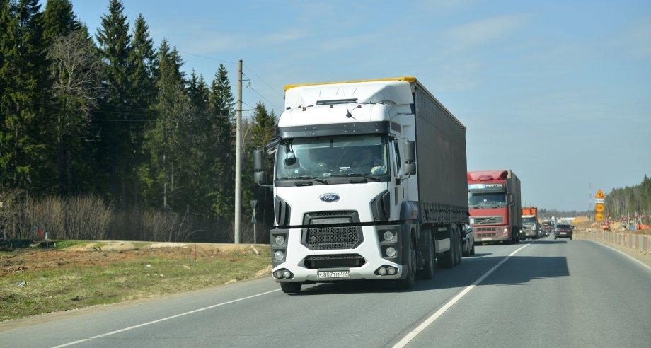 """По состоянию на 15 мая в системе """"Платон"""" зарегистрировано 833,5 тыс. грузовиков (фото: Денис Хуторецкий)"""