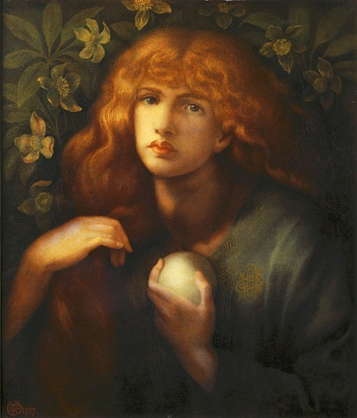 Mary Magdalene Dante Gabriel Rossetti