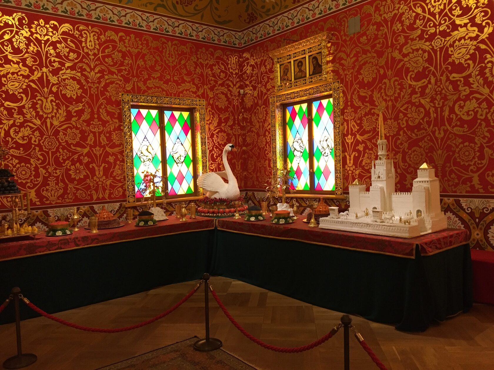 Трапезный зал во Дворце царя