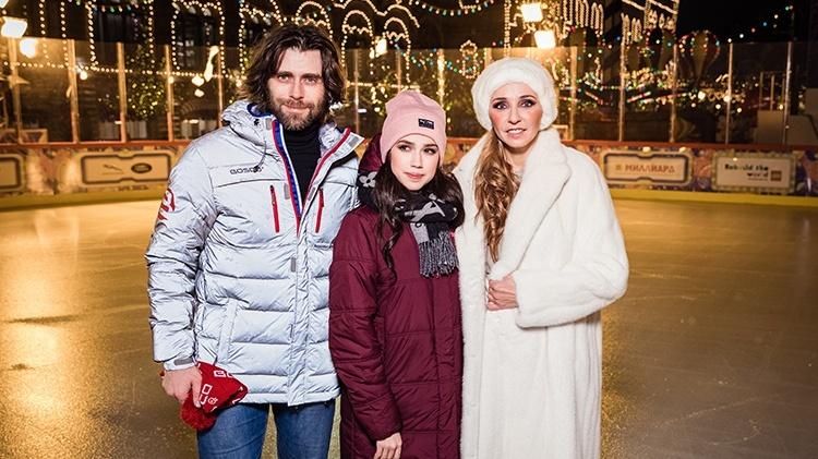 Татьяна Навка, Петр Чернышев и Алина Загитова