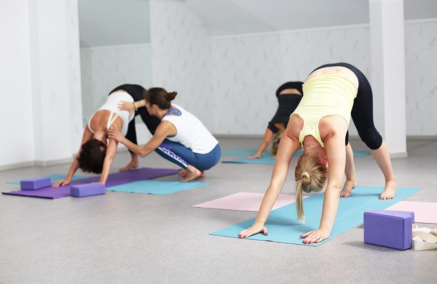Гармоничные тренировки по йоге