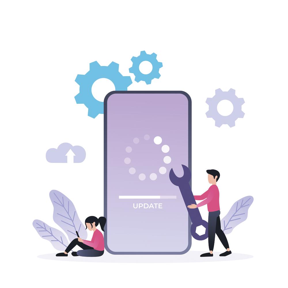 Обновление мобильного приложения Delans Курьер