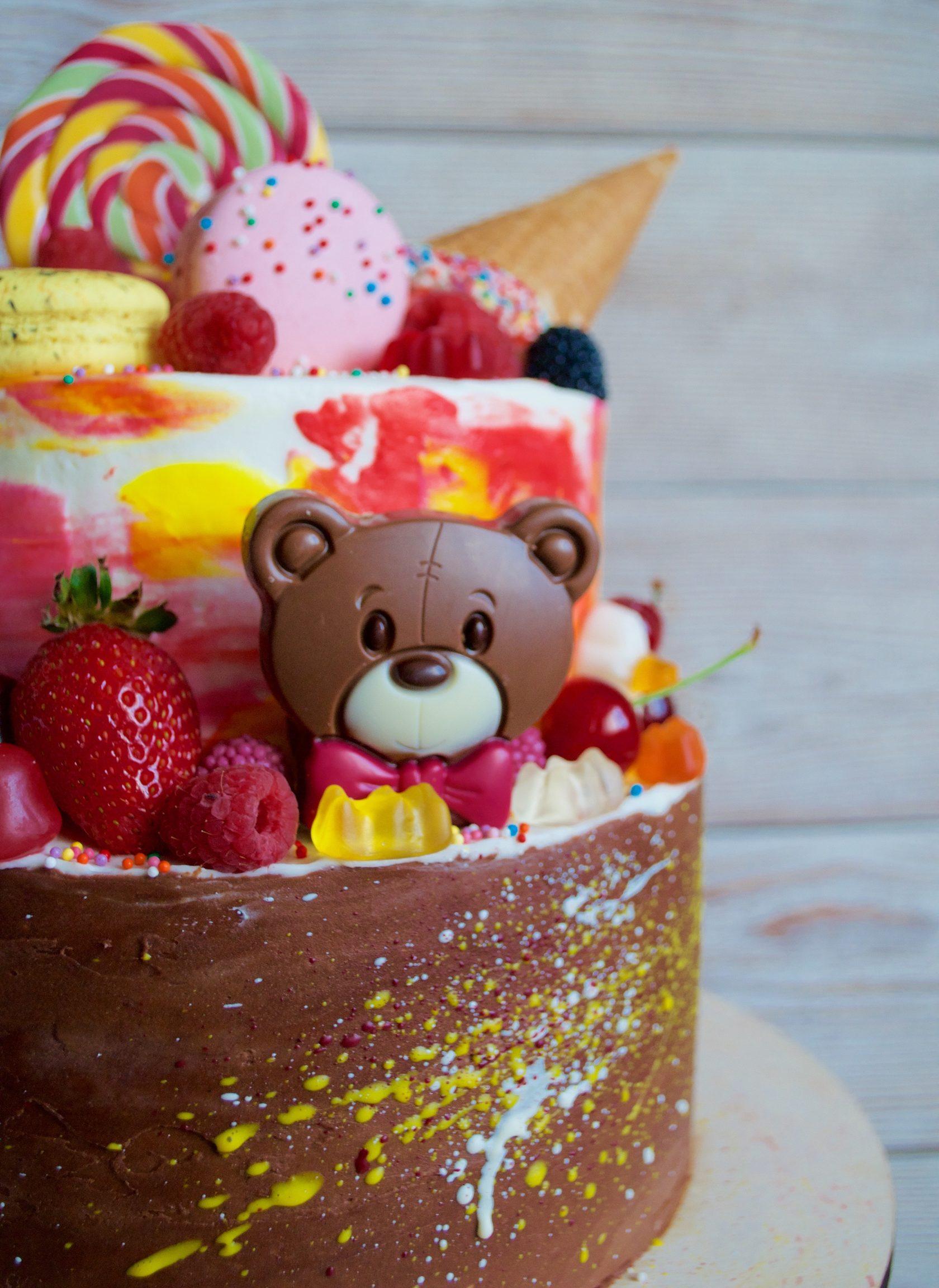 оригинальный торт на день рождение ребенка