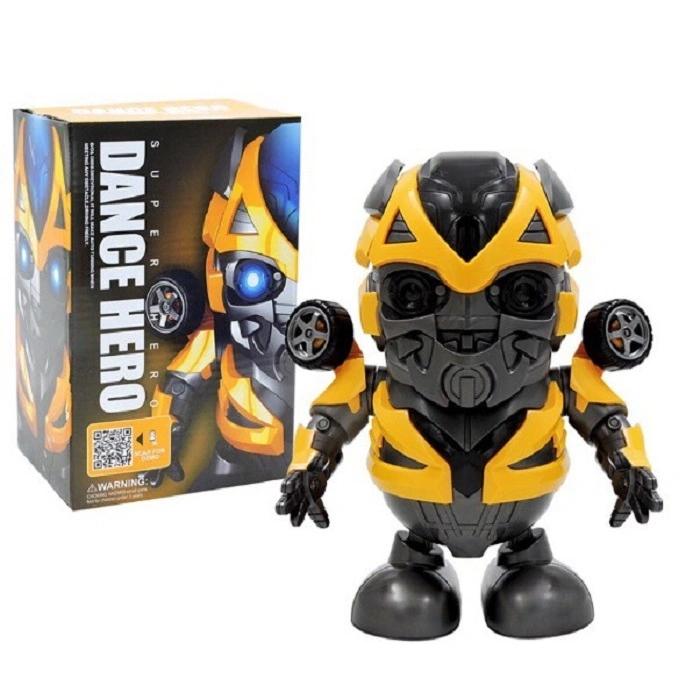 танцующий робот Bumblebee